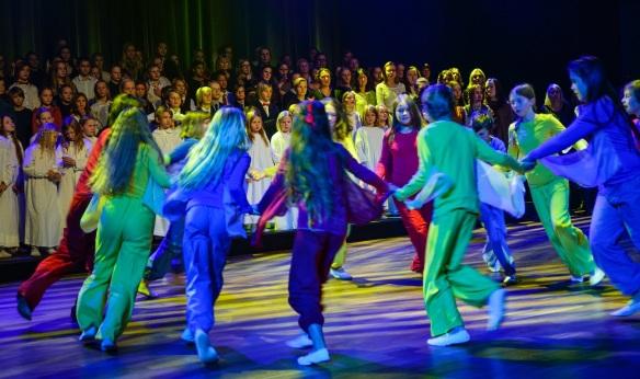 Julekonsert Julerosen 2017 - Steinerskolen på Hedemarken Eurytmi -