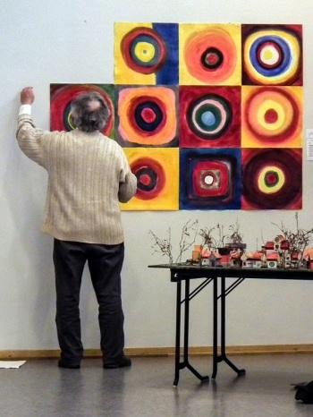 30-årsjubileum malerier miniatyrby 2011-Steinerskolen på Hedemarken