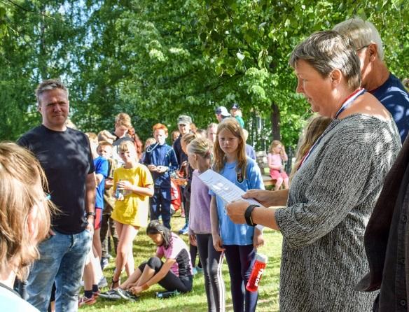 Idrettsdag 2018 Irmelin Sander--Steinerskolen på Hedemarken