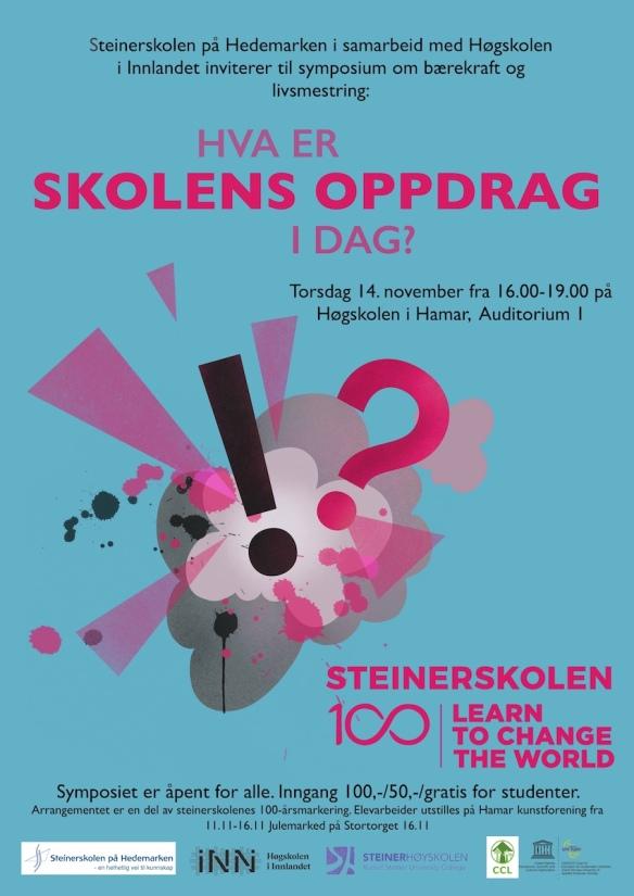 Symposium Steinerskolen på Hedemarken